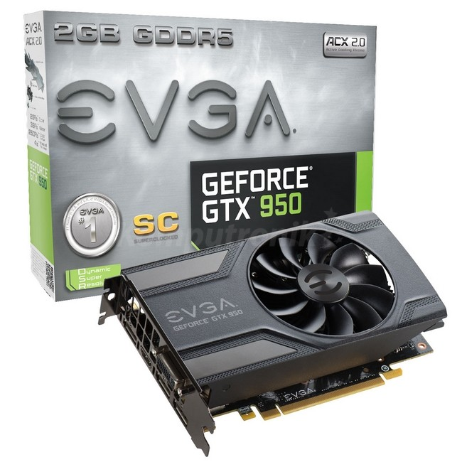 EVGA GeForce ® GTX 950 2GB SC GAMING