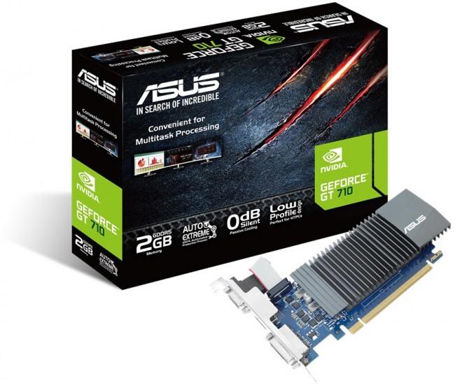 ASUS GeForce GT 710 2GB GDDR5 Silent - zdjęcie główne