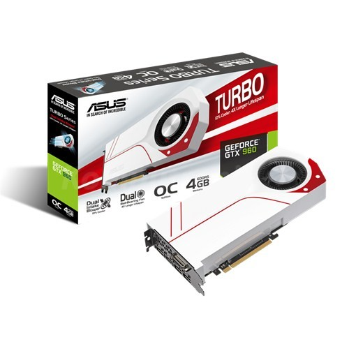 ASUS GeForce ® GTX 960 4GB Turbo
