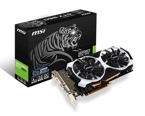 MSI GeForce ® GTX 960 4GB OC - zdjęcie główne