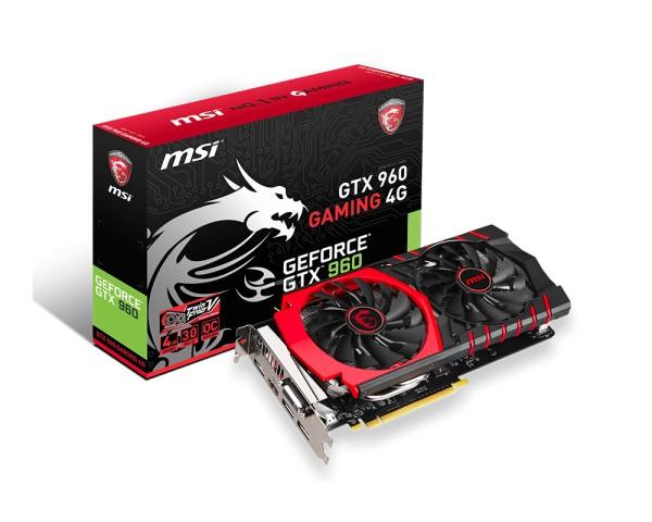 MSI GeForce ® GTX 960 4GB GAMING - zdjęcie główne