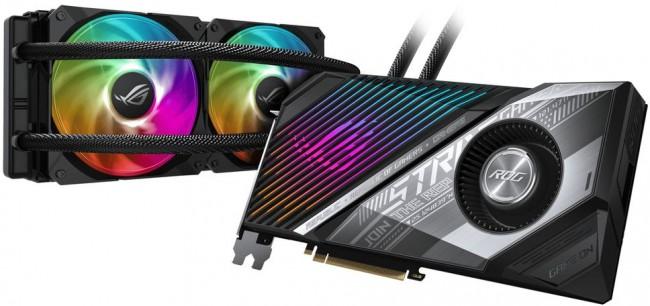ASUS Radeon RX 6800 XT STRIX LC 16GB OC - zdjęcie główne