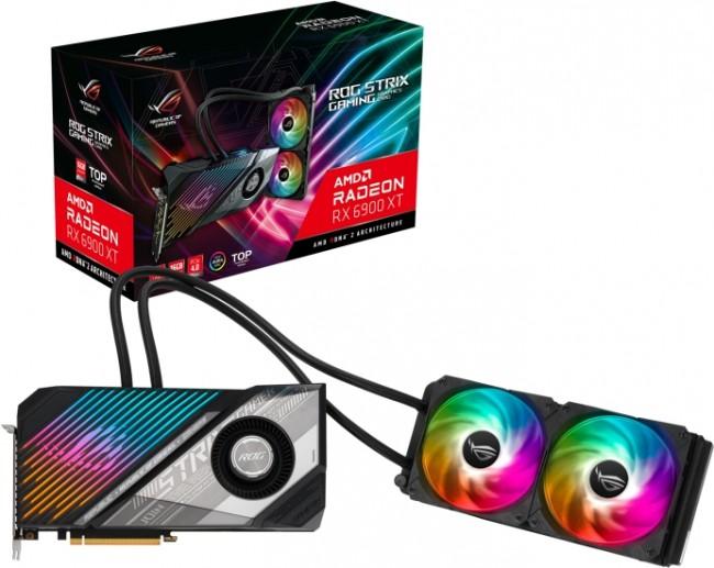 ASUS Radeon RX 6900 XT STRIX LC 16GB - zdjęcie główne