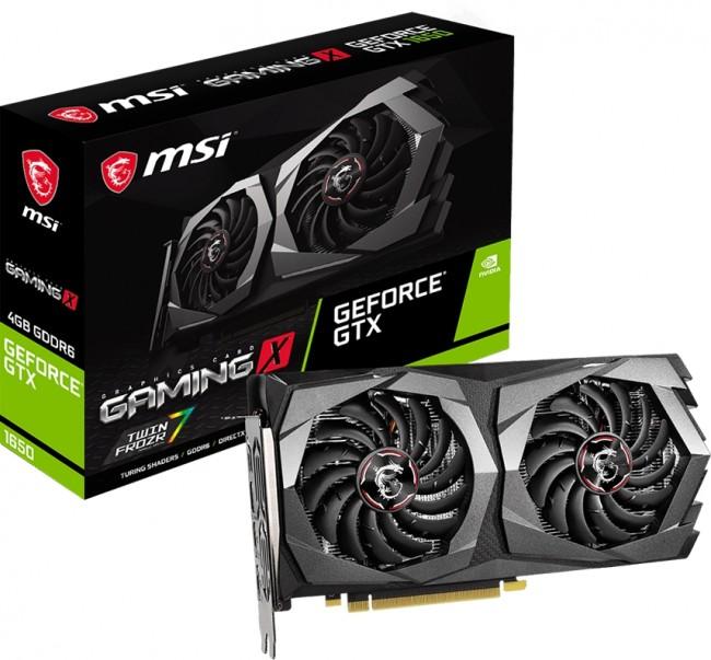 MSI GeForce GTX 1650 GAMING X 4GB GDDR6 - zdjęcie główne