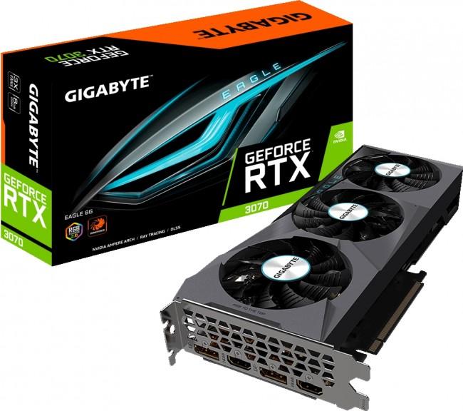 Gigabyte GeForce RTX 3070 EAGLE 8GB - zdjęcie główne