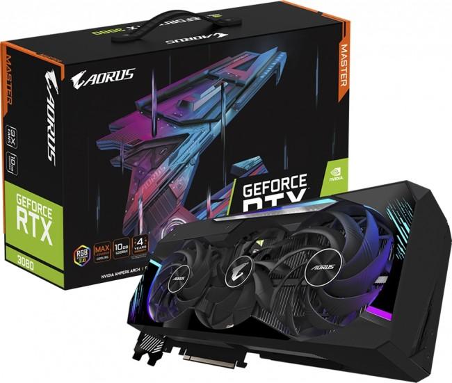 Gigabyte GeForce RTX 3080 AORUS MASTER 10G - zdjęcie główne