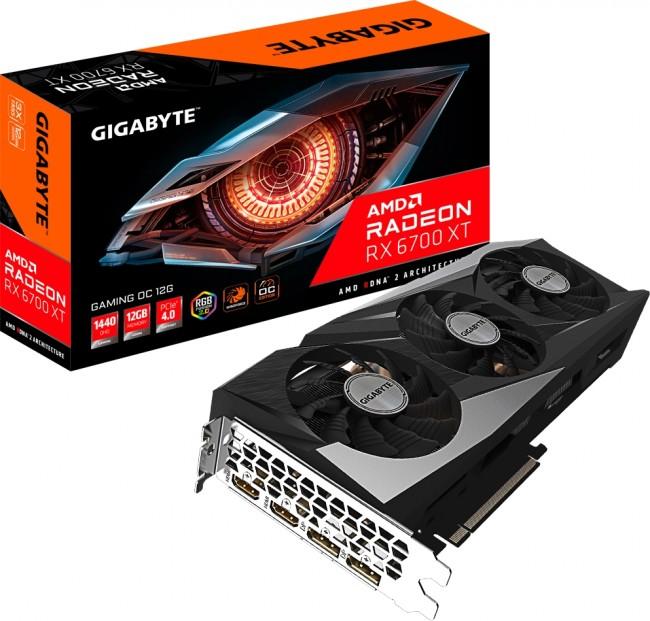 Gigabyte Radeon RX 6700 XT GAMING 12GB OC - zdjęcie główne