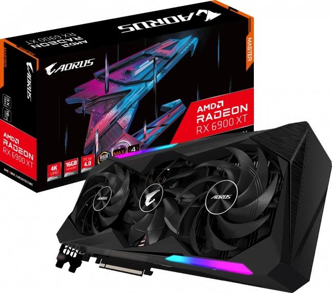 Gigabyte Radeon RX 6900 XT AORUS MASTER 16GB - zdjęcie główne