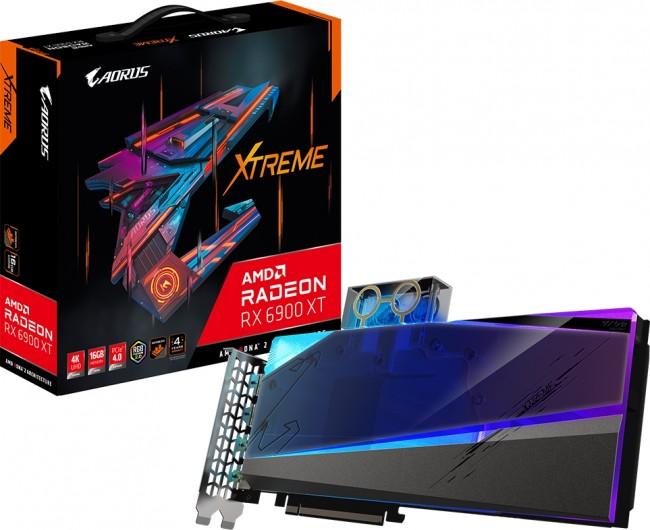 Gigabyte Radeon RX 6900 XT AORUS XTREME WATERFORCE WB 16GB - zdjęcie główne