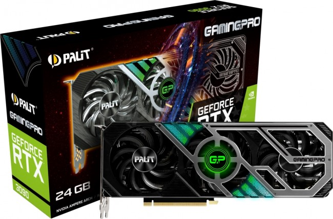 Palit GeForce RTX 3090 GamingPro 24GB - zdjęcie główne