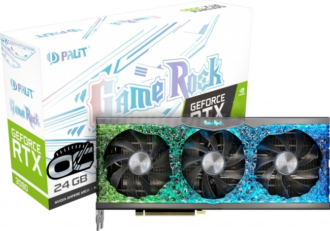 Palit GeForce RTX 3090 GameRock OC 24GB - zdjęcie główne