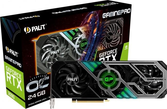 Palit GeForce RTX 3090 GamingPro OC 24GB - zdjęcie główne