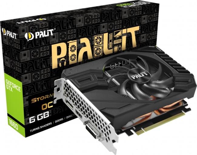 Palit GeForce GTX 1660 Storm X 6GB OC - zdjęcie główne