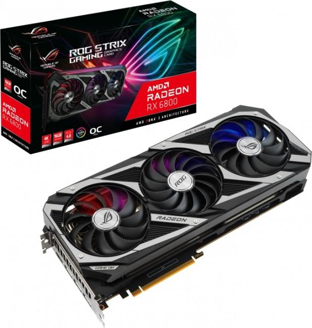 ASUS Radeon RX 6800 ROG STRIX 16GB OC - zdjęcie główne