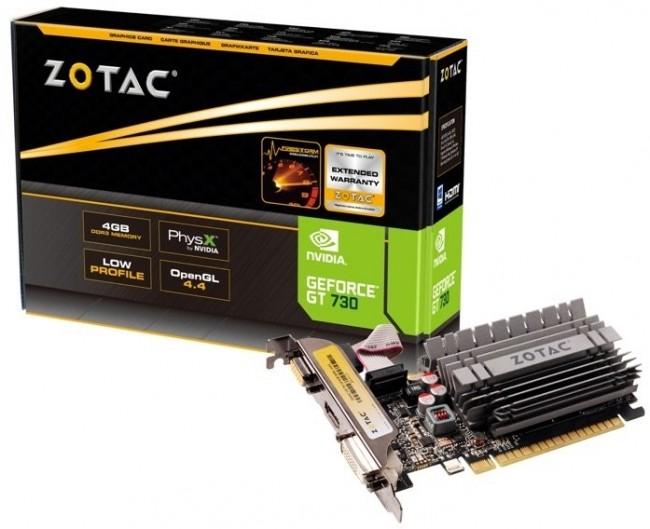 ZOTAC GeForce GT 730 ZONE Edition Low Profile 4GB - zdjęcie główne