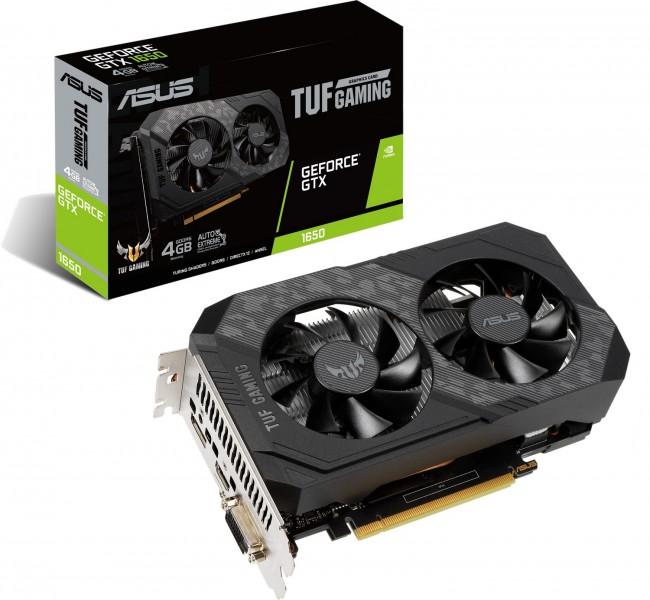 ASUS GeForce GTX 1650 TUF GAMING 4GB GDDR6 - zdjęcie główne