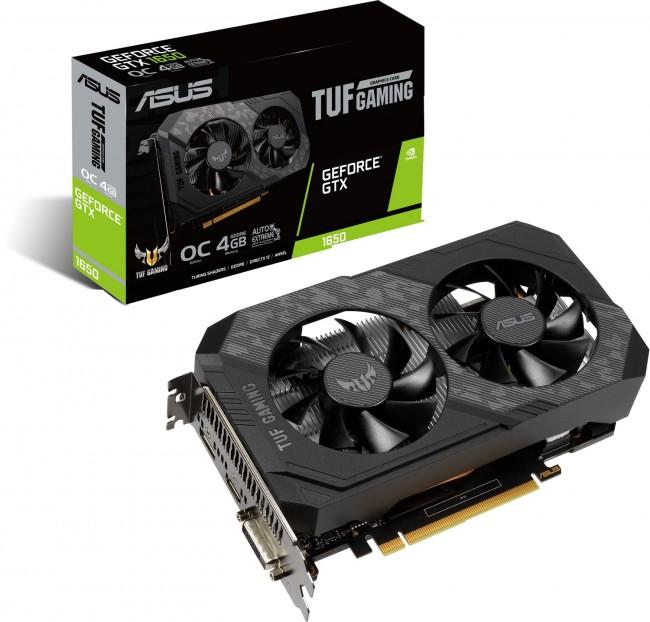 ASUS GeForce GTX 1650 TUF GAMING 4GB GDDR6 OC - zdjęcie główne
