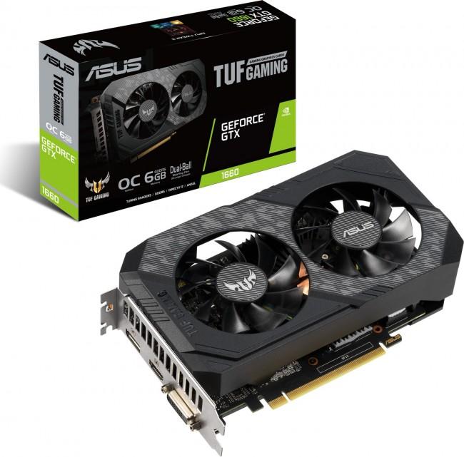 ASUS GeForce GTX 1660 TUF GAMING 6GB OC - zdjęcie główne