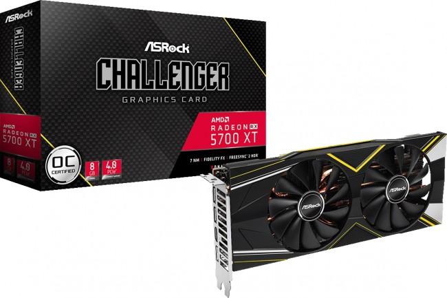 ASRock Radeon RX 5700 XT Challenger D 8G OC GDDR6 - zdjęcie główne