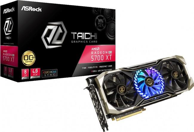 ASRock Radeon RX 5700 XT Taichi X OC+ 8GB GDDR6 - zdjęcie główne
