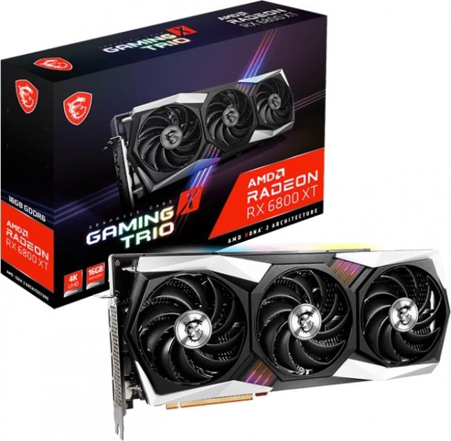 MSI Radeon RX 6900 XT GAMING X TRIO 16GB - zdjęcie główne