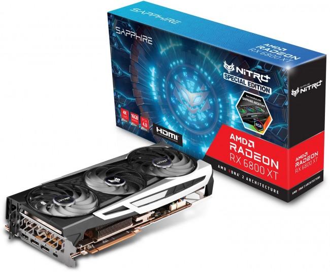 Sapphire NITRO+ Radeon RX 6800 XT OC SE Gaming 16GB GDDR6 - zdjęcie główne