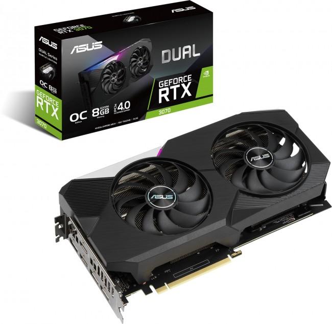 ASUS GeForce RTX 3070 DUAL 8GB OC [oferta Outlet] - zdjęcie główne