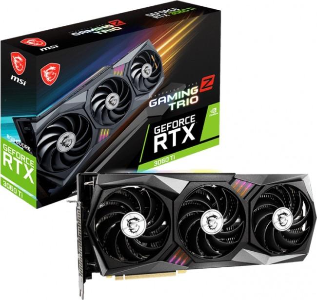 MSI GeForce RTX 3060 Ti GAMING Z TRIO 8GB LHR - zdjęcie główne