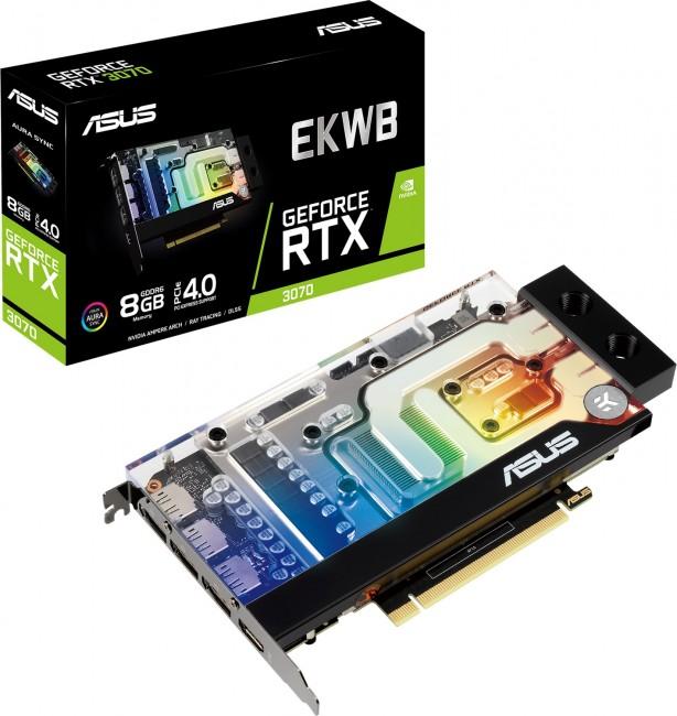 ASUS GeForce RTX 3070 EK 8GB - zdjęcie główne