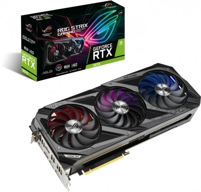 ASUS GeForce RTX 3060 Ti STRIX Gaming 8GB V2 LHR - zdjęcie główne