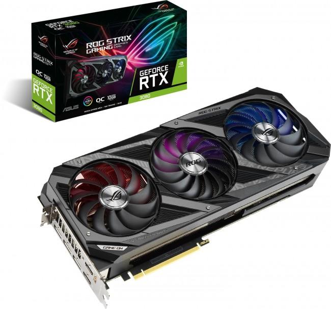 ASUS GeForce RTX 3080 STRIX Gaming 10GB OC - zdjęcie główne