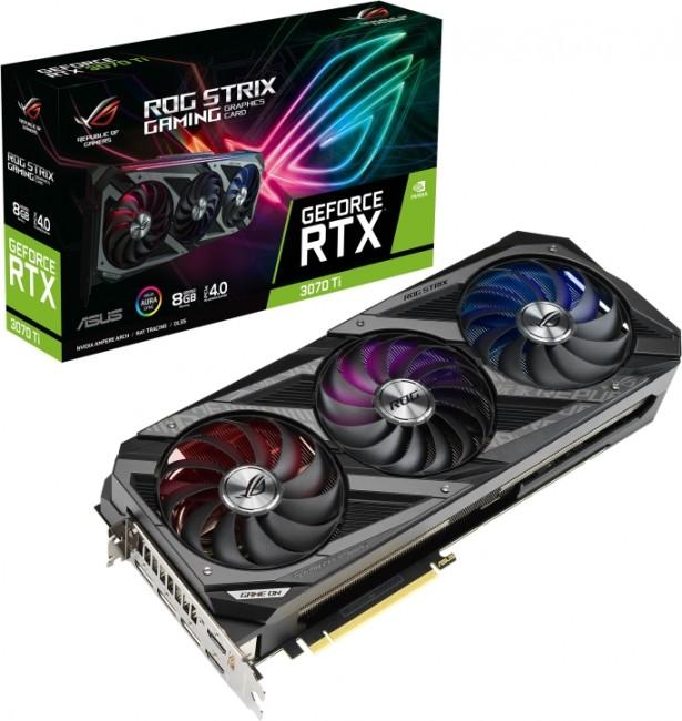 ASUS GeForce RTX 3070 Ti ROG STRIX 8GB - zdjęcie główne