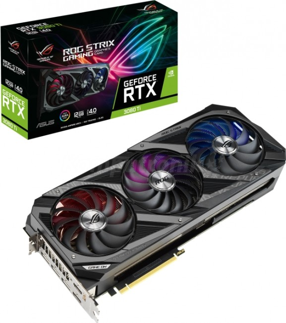 ASUS GeForce RTX 3080 Ti ROG STRIX 12GB - zdjęcie główne