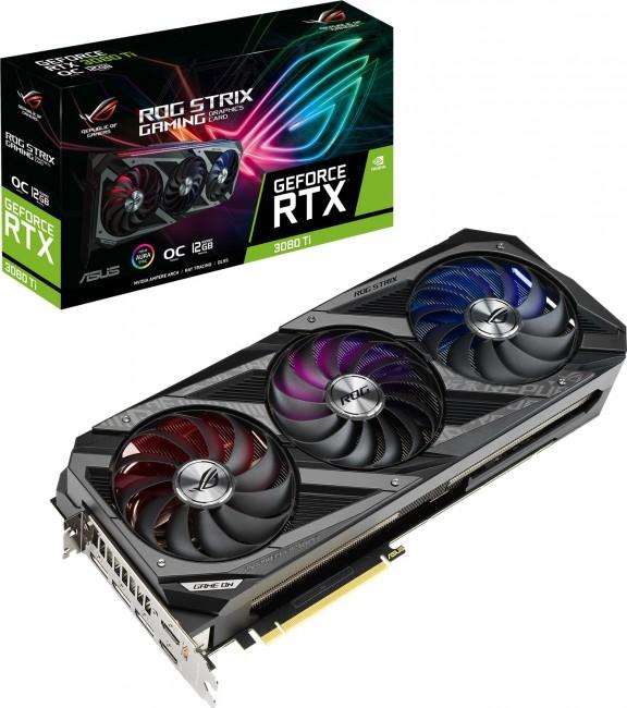 ASUS GeForce RTX 3080 Ti ROG STRIX 12GB OC - zdjęcie główne