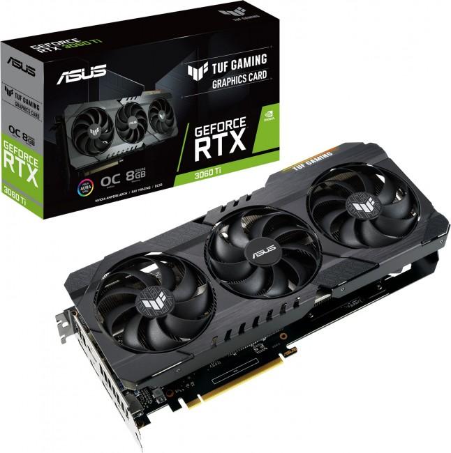 ASUS GeForce RTX 3060 Ti TUF Gaming 8GB OC - zdjęcie główne