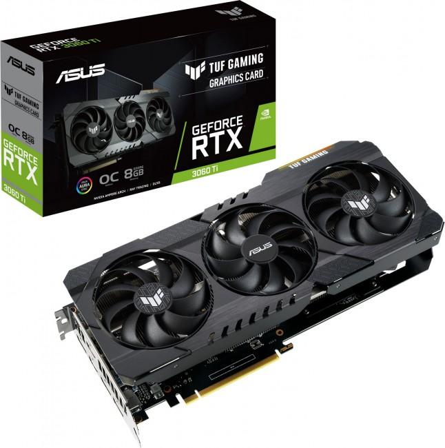 ASUS GeForce RTX 3060 Ti TUF Gaming 8GB OC V2 - zdjęcie główne