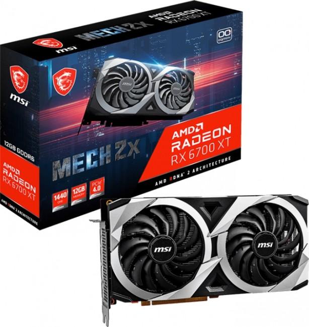 MSI Radeon RX 6700 XT MECH 2X 12GB OC - zdjęcie główne