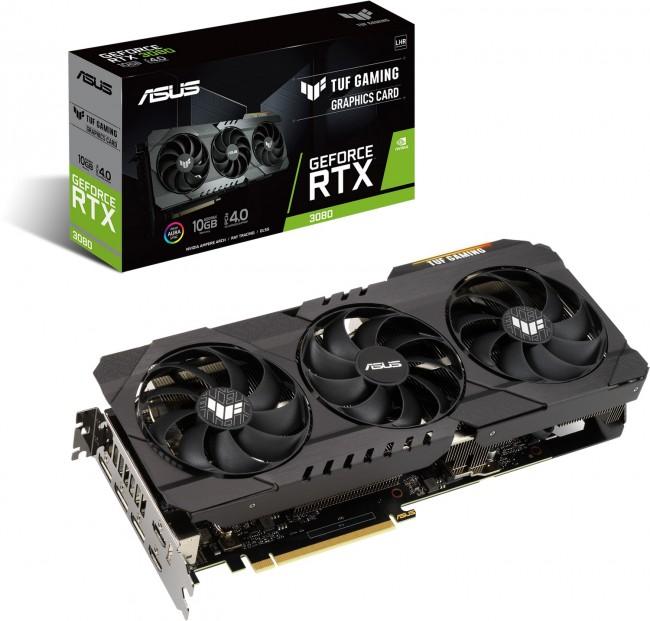 ASUS GeForce RTX 3080 TUF Gaming V2 10GB LHR - zdjęcie główne