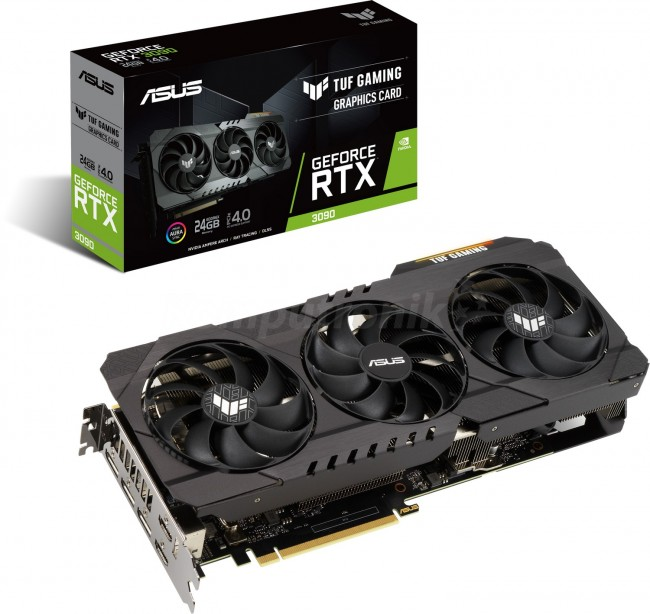 ASUS GeForce RTX 3090 TUF Gaming 24GB - zdjęcie główne