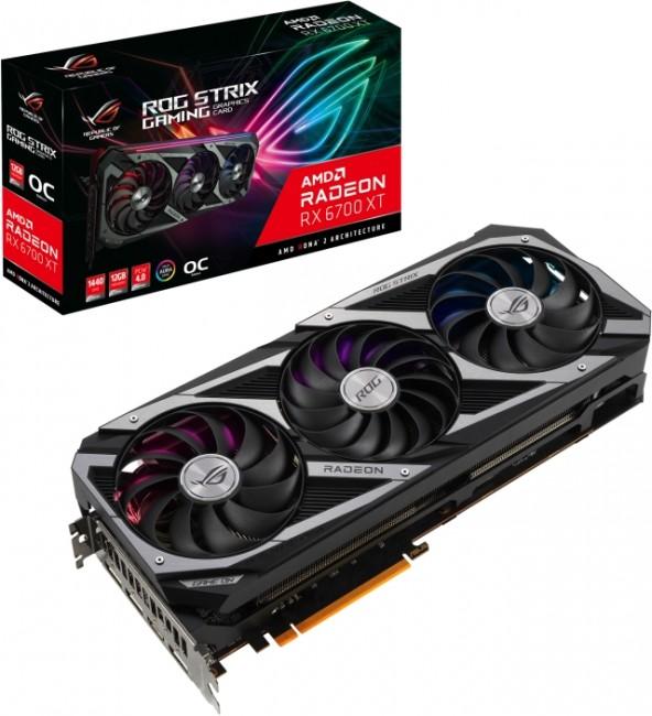 ASUS Radeon RX 6700 XT ROG STRIX 12GB OC - zdjęcie główne