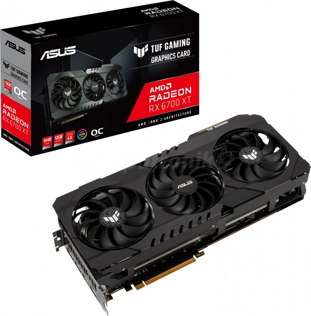 ASUS Radeon RX 6700 XT TUF 12GB OC - zdjęcie główne