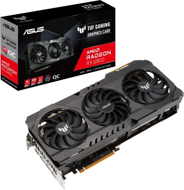 ASUS Radeon RX 6800 TUF 16GB OC - zdjęcie główne