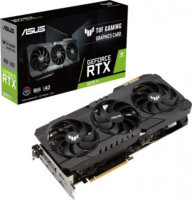ASUS GeForce RTX 3070 Ti TUF 8GB - zdjęcie główne