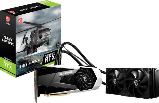 MSI GeForce RTX 3080 SEA HAWK X 10G LHR - zdjęcie główne