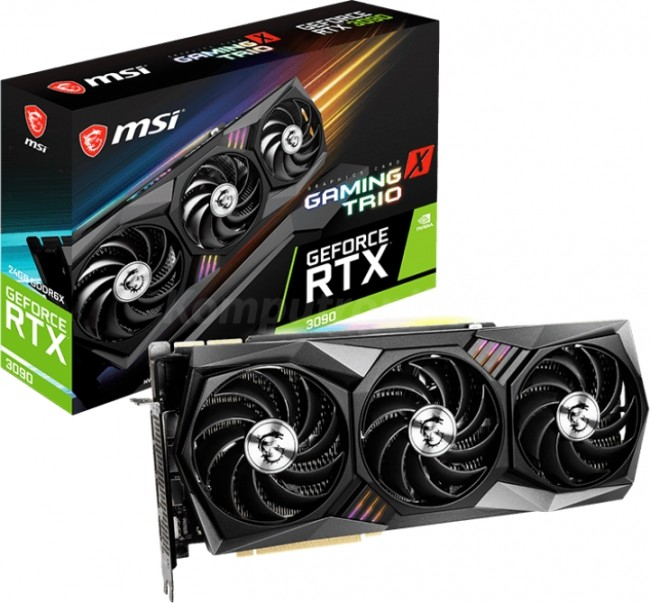 MSI GeForce RTX 3090 GAMING X TRIO 24G - zdjęcie główne