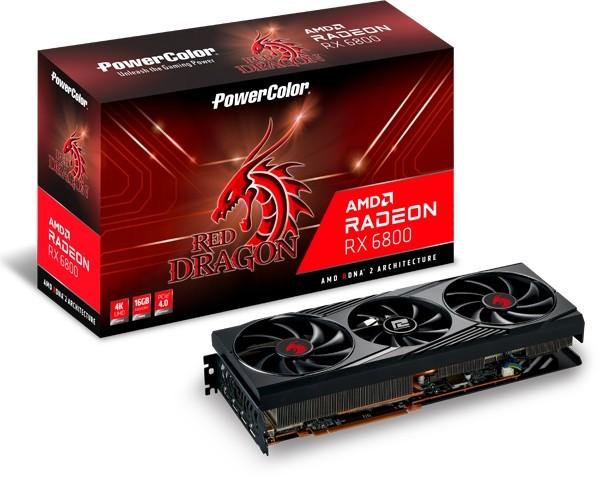 PowerColor Radeon 6800 Red Dragon 16GB - zdjęcie główne