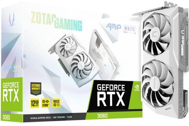 ZOTAC Gaming GeForce RTX 3060 AMP White Edition - zdjęcie główne