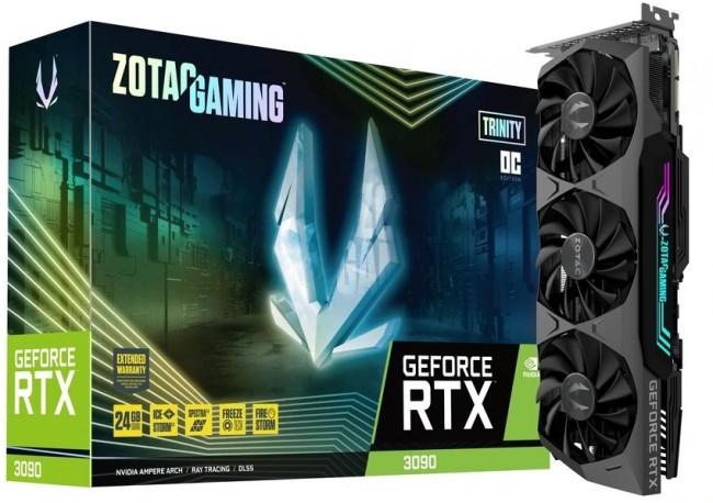 ZOTAC Gaming GeForce RTX 3090 Trinity OC - zdjęcie główne