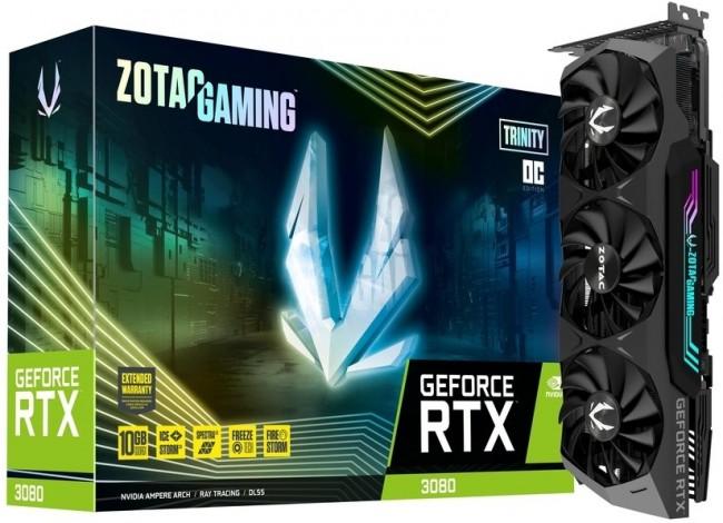 ZOTAC GeForce RTX 3080 Trinity OC 10GB - zdjęcie główne