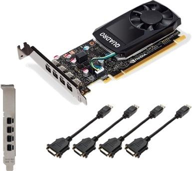 PNY Quadro P1000 4GB V2 4xmDP/DVI-SL - zdjęcie główne
